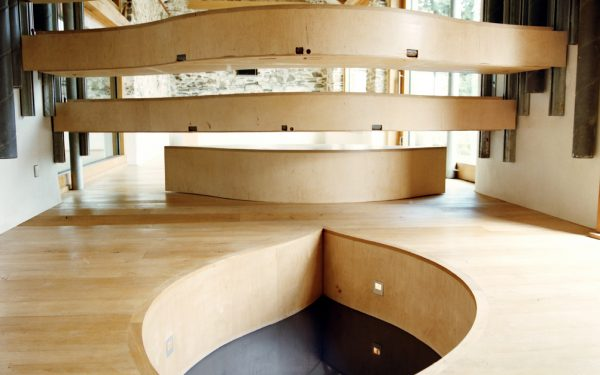 Feature image for Wooda Auditorium by David Sheppard Architects